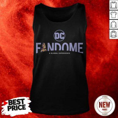 DC Fandome A Global Experience Wonder Woman Logo Fill Tank Top