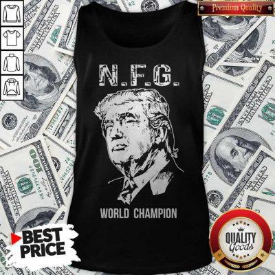 Donald Trump NFG World Champion Tank Top