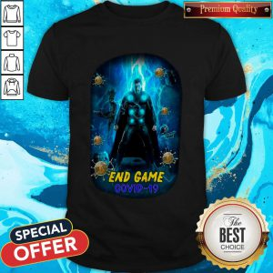 Funny Avenger Thor Endgame Covid 19 Shirt