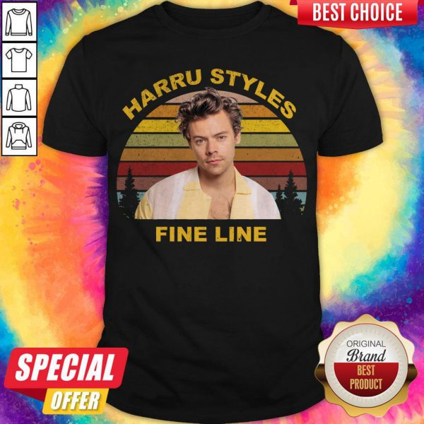 Official Harry Styles Fine Line Vintage Shirt