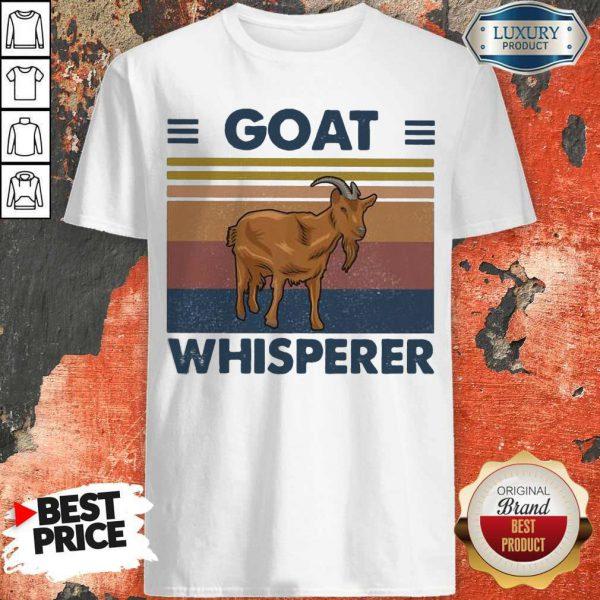 Top Goat Whisperer Vintage Shirt