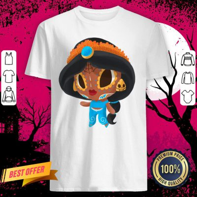 A Whole New Princess Muerto Day Of The Dead Sugar Skull Shirt