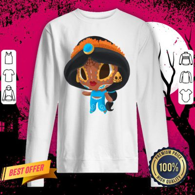 A Whole New Princess Muerto Day Of The Dead Sugar Skull Sweatshirt