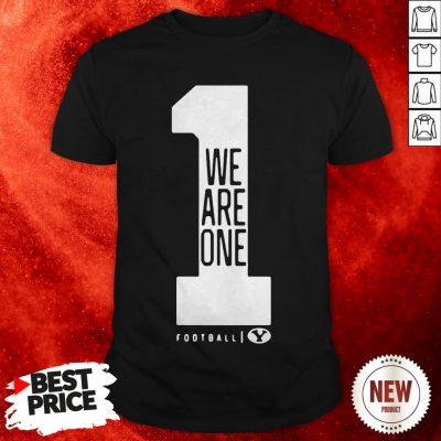 BYU Football Love One Another We Are One Shirt
