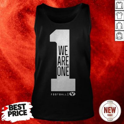 BYU Football Love One Another We Are One Tank Top