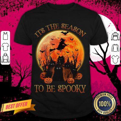 Cat It's The Season To Be Spooky Halloween Hoodie