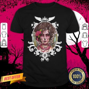 Catrina Colorada Day Of The Dead Sugar Skull Shirt