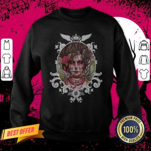 Catrina Colorada Day Of The Dead Sugar Skull Sweatshirt