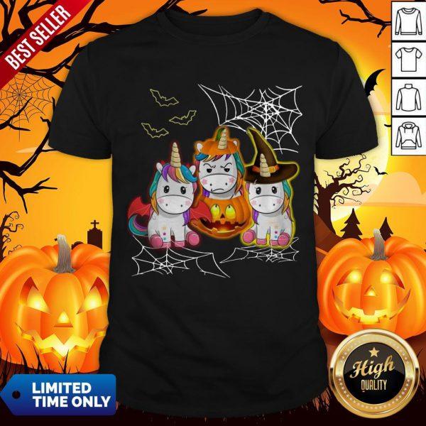Official Cute Unicorn Halloween Shirt