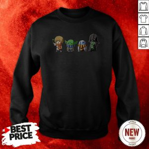 Hogwars And Star Wars Mashup Sweatshirt