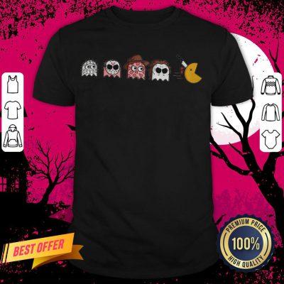 Horror Halloween Pacman Halloween Shirt