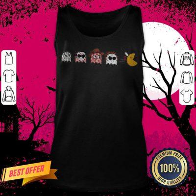 Horror Halloween Pacman Halloween Tank Top