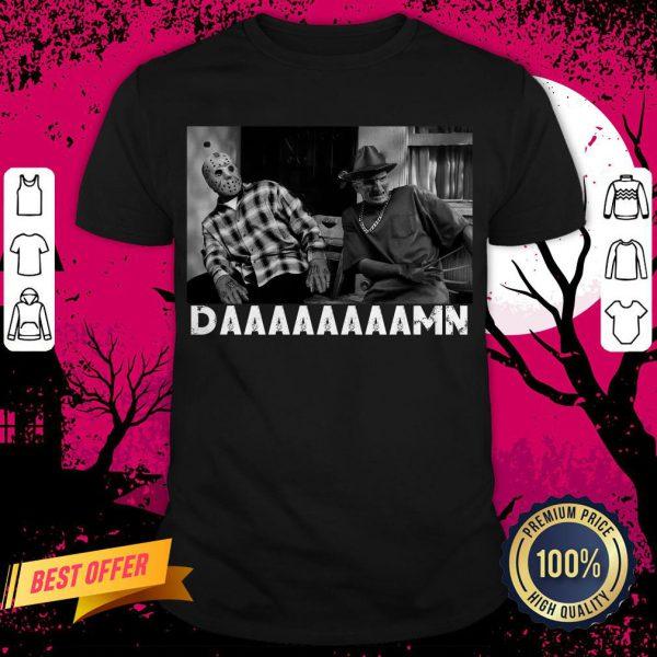 Jason Voorhees and Freddy Krueger Damn Shirt