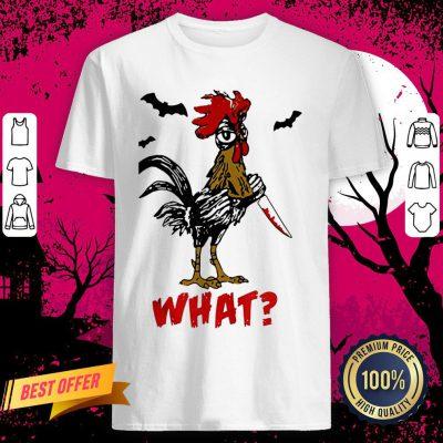 Jason Voorhees Chicken Halloween What Shirt