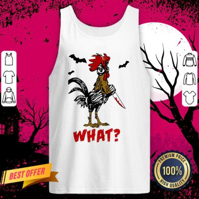 Jason Voorhees Chicken Halloween What Tank Top