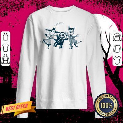 Lock Shock & Barrel Dancing Party Halloween Day Sweatshirt
