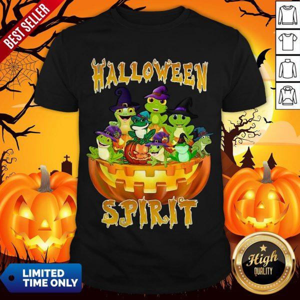 Official Frogs Halloween Spirit Shirt