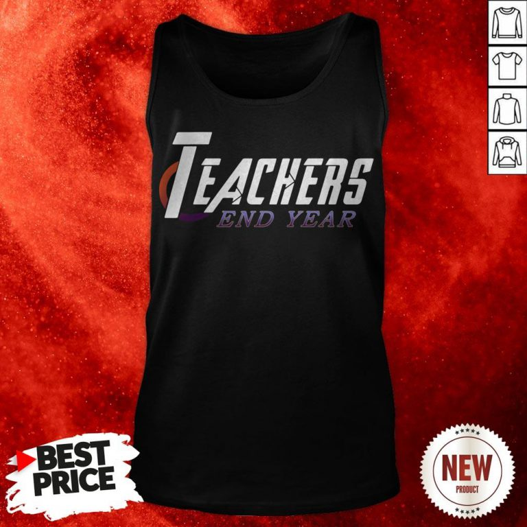 Official Teachers End Year Tank Top