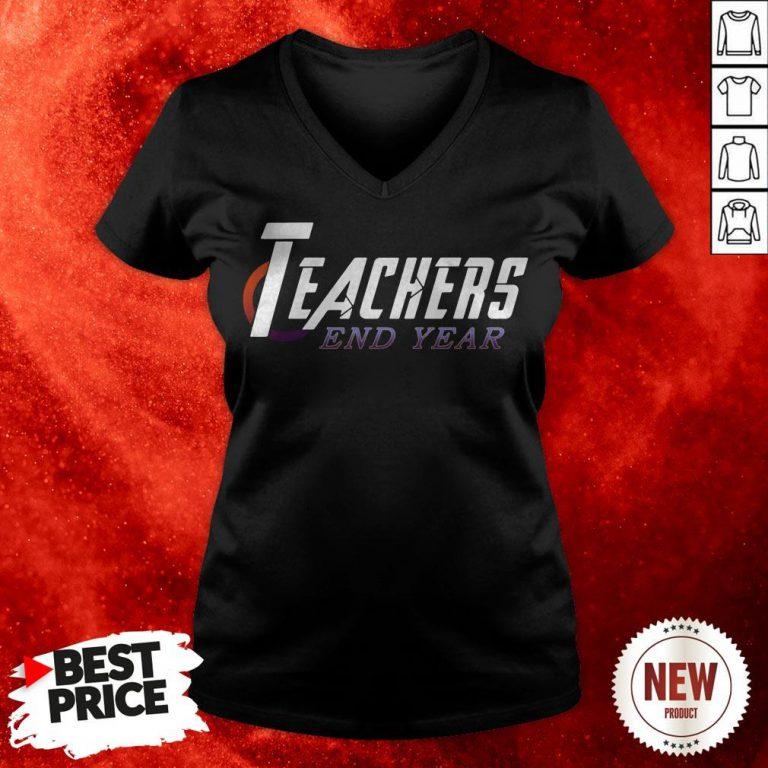 Official Teachers End Year V-neck