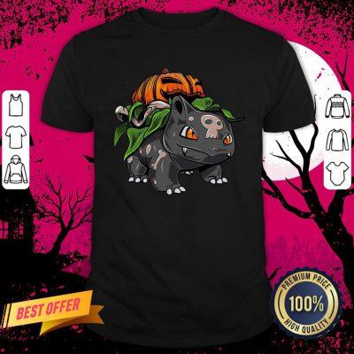 Pokemon Bulbasaur Pumpkin Halloween Shirt