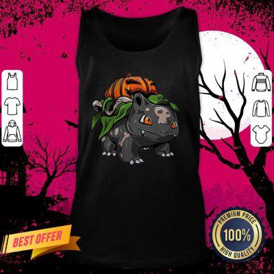 Pokemon Bulbasaur Pumpkin Halloween Tank Top