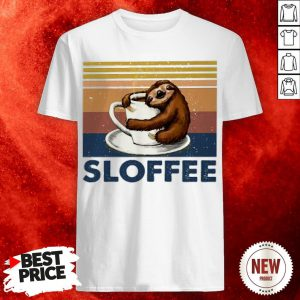 Sloth Hug Coffee Sloffee Vintage Shirt