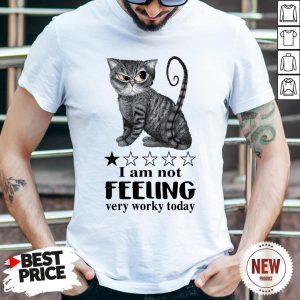 Cat I Am Not Feeling Very Worky Today Shirt