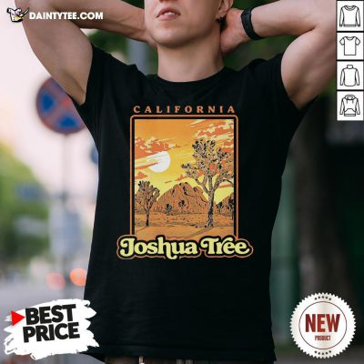Funny Joshua Tree National Park Vintage WPA Poster Style Shirt- Design By Daintytee.com