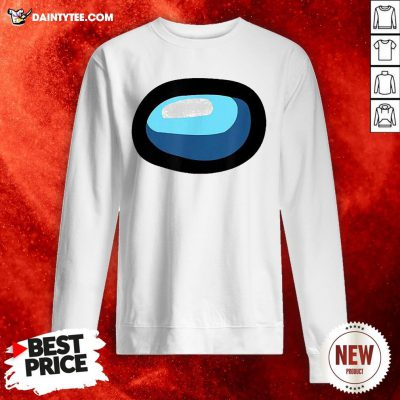 Good Crewmate Or Sus Impostor Gaming Mask For Costume Sweatshirt- Design By Daintytee.com