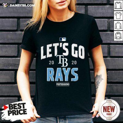 Let's Go 2020 Tampa Rays Postseason V Neck