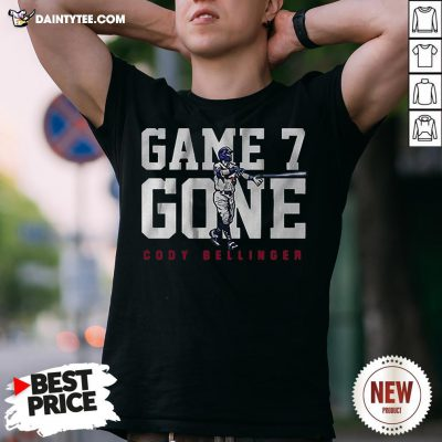 Nice Cody Bellinger Game 7 Gone Shirt- Design By Daintytee.com