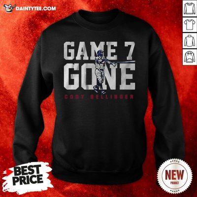Nice Cody Bellinger Game 7 Gone Sweatshirt- Design By Daintytee.com
