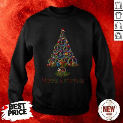 Official Hippie Christmas Tree Sweatshirt