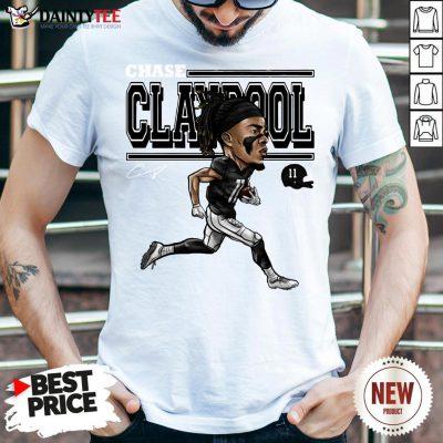 Perfect Chase Claypool Cartoon Shirt- Design By Daintytee.com