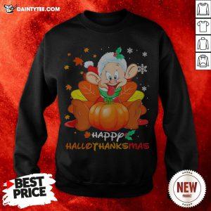 Top Dopey Happy Hallothanksmas Sweatshirt