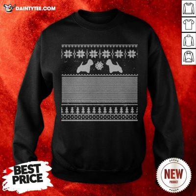 Top Westie Green Christmas Sweatshirt