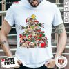 Pug Christmas Tree Dog Santa Merry Pugmas Xmas Gifts T-Shirt- Design By Daintytee.com