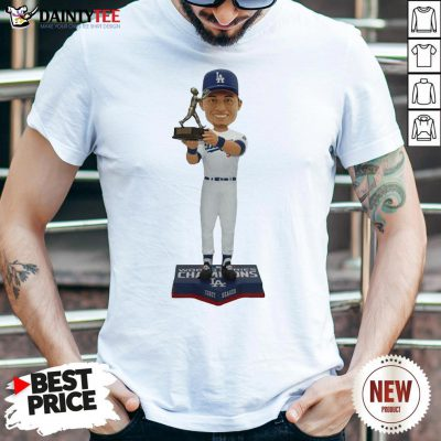 Funny Corey Seager Los Angeles Dodgers 2020 World Series Champions MVP Shirt- Design By Daintytee.com