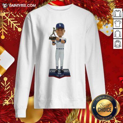Funny Corey Seager Los Angeles Dodgers 2020 World Series Champions MVP Sweatshirt- Design By Daintytee.com