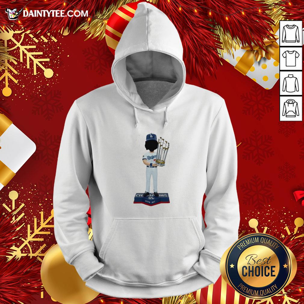 Good Dustin May Los Angeles Dodgers World Series Champions 2020 Hoodie- Design By Daintytee.com