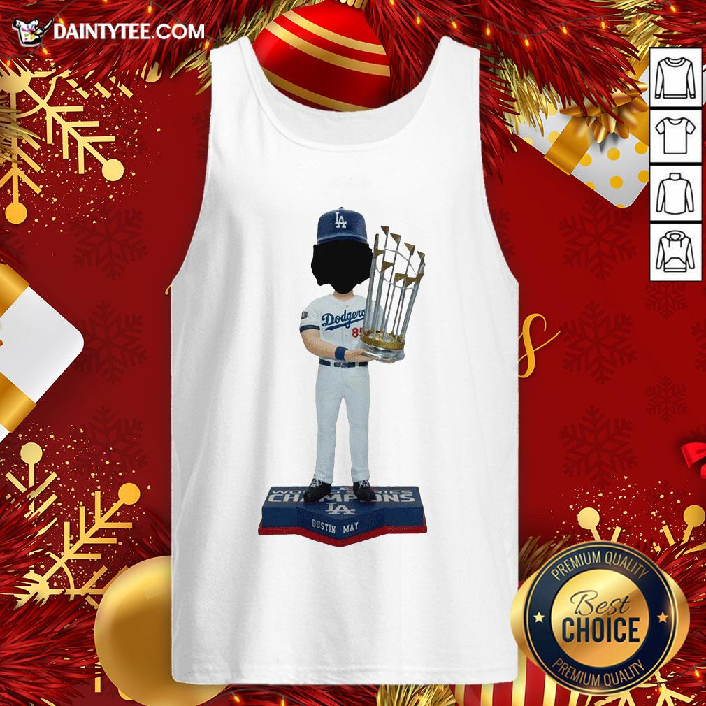 Good Dustin May Los Angeles Dodgers World Series Champions 2020 Tank Top- Design By Daintytee.com