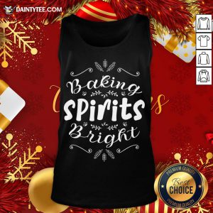 Hot Baking Spirits Bright Christmas For Family Tank Top- Design By Daintytee.com