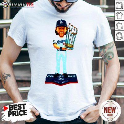 Hot Clayton Kershaw Los Angeles Dodgers 2020 World Series Champions MLB 2020 Shirt- Design By Daintytee.com