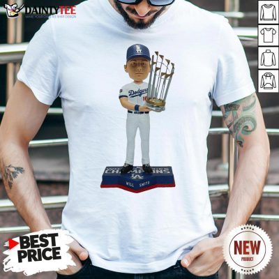 Nice Los Angeles Dodgers 2020 World Series Champions MemBer Will Smith Shirt- Design By Daintytee.com