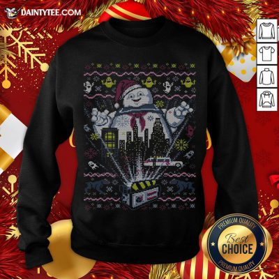 Official Ghostbusters There Is No Santa Only Zuul Sweatshirt- Design By Daintytee.com