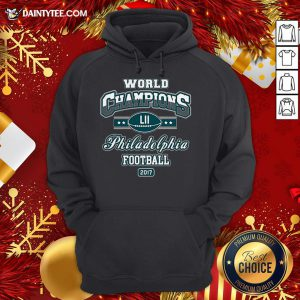 Official World Champion Philadelphia Football DT Adult Hoodie- Design By Daintytee.com