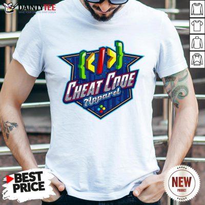 Perfect Cheat Code Apparel Gamer Shirt- Design By Daintytee.com