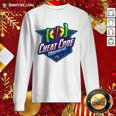 Perfect Cheat Code Apparel Gamer Sweatshirt- Design By Daintytee.com