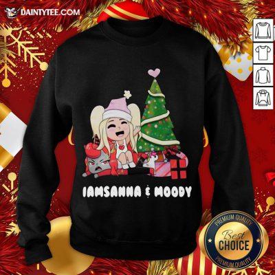Perfect Sanna Iamsanna E Moody Christmas Sweatshirt - Design By Daintytee.com