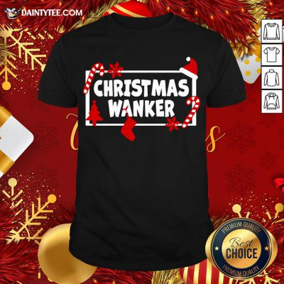 Premium Christmas Wanker Shirt- Design By Daintytee.com